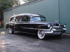 1955 Cadillac Meteor Hearse