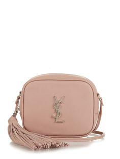 Saint Laurent  Blogger tasselled leather cross-body bag