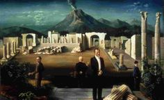 carel willink - Schilders en Pompeii