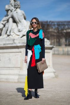 The best street style looks spotted at Paris Fashion Week today: