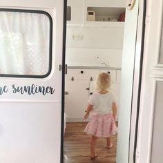 Betty the Sunliner caravan Caravan Bar, Mobile Business, Pink Vans, Mobile Bar, Wedding Props, Instagram Story, Instagram Posts, Portable Bar