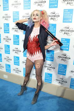 It's time to start thinking about your Halloween costume for 2016. Get ideas from these 55 best celebrity Halloween costumes to pin now and save for later: Poppy Delevingne as Harley Quinn