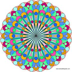 Don't Eat the Paste: A new mandala to color