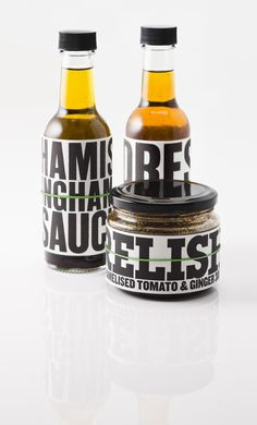 Relish: Hamish Ingham's sauce: designed by Frost*