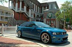 BMW E46 M3... Laguna Seca Blue!