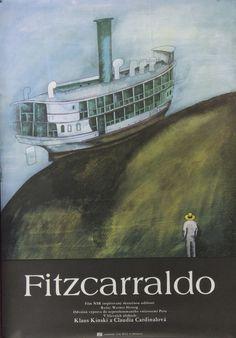 Fitzcarraldo Poster, Czech, 1982
