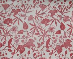 Marthe Armitage via Remodelista and Pattern Recognition.co  Beautiful woodblock pattern maker.