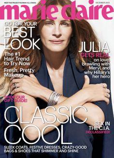 Marie Claire - magazine available through KCKPL Zinio digital magazine account.