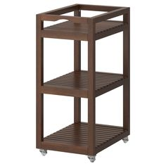 MOLGER  Cart, dark brown  $44.99  The price reflects selected options  Article Number:402.414.08  Easy to move - casters included. Easy to pull/take out for better overview and access. Read more  Color