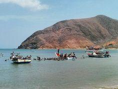 Foto de @joseboadasmillan  #playalagalera #faenadepescadores #islademargarita #nuevaesparta #venezuela #fotomargarita #Regrann