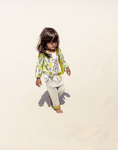 Ensemble fille IKKS Baby Girl, collection Printemps,Eté 2016 SS16 Mode  Fillette,