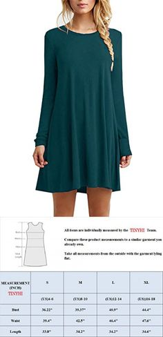 Hot Shirt Homecoming Dresses For Juniors Assymetrical Women Olive Womens Vest Swing Tunic Suade Dress T-shirt Long Sleeve T Us Army,Dark Green,Medium
