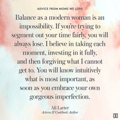 #WiseWords from #hotmama Ali Larter