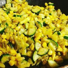 Quick and Easy New Mexico Style Calabacitas