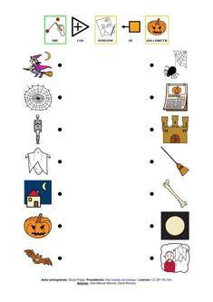 relaciona dibujos de halloween Bingo, Halloween Infantil, Cognitive Activities, Halloween Worksheets, Activities For Kids, Playing Cards, School, Learning, Games