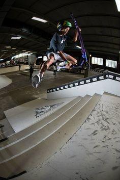 Lucky UK pro rider Dante Hutchinson - credit Sam Cooper