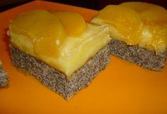 Főzött vaníliakrémes-barackos-mákos süti