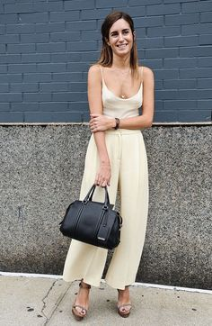 Gala Gonzalez New York Fashion Week Spring 2015 Gala Gonzalez, Nyfw Street Style, Cool Street Fashion, Street Style Women, Mode Style, Style Me, Overall, Trends, Fashion Week