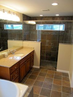 Best Green Residence Bathroom Renovation Of Existing 400 x 300