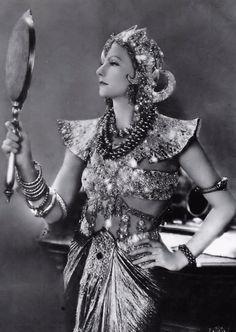 Greta Garbo - 1931 - Mata Hari - Costume design by Adrian - Directed by George Fitzmaurice