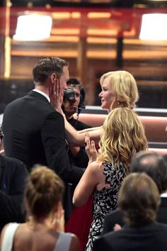 Yep, Nicole Kidman Did Just Kiss Alexander Skarsgård Smack on the Lips in Front of Keith Urban Supporting Actor, The Emmys, Big Little Lies, Alexander Skarsgård, Keith Urban, Nicole Kidman, Best Shows Ever, Kiss, Entertainment