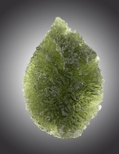Moldavite   Possibly formed by a meteorite impact, which would make it one kind of tektite