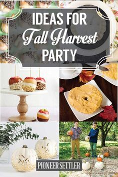 Throw an adult fall harvest party