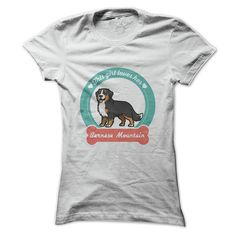 This girl loves her Bernese Mountain Dog T-Shirts, Hoodies. Check Price Now ==► https://www.sunfrog.com/Pets/This-girl-loves-her-Bernese-Mountain-Dog-Ladies.html?41382