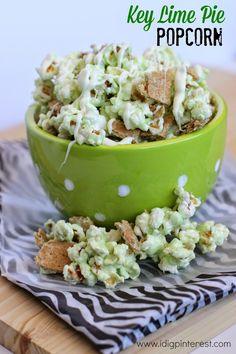 Key Lime Pie Popcorn on MyRecipeMagic.com