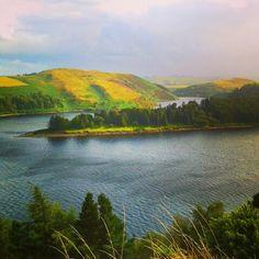 Llyn Clywedog, lake, beautiful places.