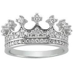 Gümüş Kraliçe Tacı Yüzük http://www.takidukkani.com/Gumus-Yuzuk,LA_178-2.html