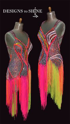 Shop for your Latin dancewear at Designs to shine by Maria McGill, the premier choice for dancewear. All our Latin dresses are completely unique in design Latin Dresses, Dance World, Fringe Dress, Ballroom Dress, Latin Dance, Dancing With The Stars, Dress Codes, Dance Costumes, Dance Wear