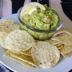 Guacamole 'N Cheese - yummy!!  I recommend using a food processor