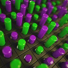 Freaked in cinema 4d R17 using octane as the renderer. #c4d #cinema4d #3d #art #abstractart #abstract #maxon #c4dmaxon #3ddesign #render #glass #gsg #art #cg #octanerender #hdri #green #purple by darkstardesigns