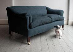 Howe Sofa with horsehair: Remodelista