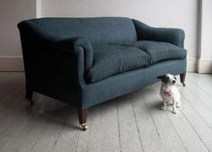 Howe Sofa with horsehair: Remodelista