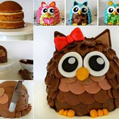Um, I love this cake! It looks a little bit like an adorable furby (which makes me love it even more!). Owls are the cutest woodland creature and this cake is no exception. I can't believe that it is a DIY. It looks incredibly professional but it's not that hard to make if you follow all the...