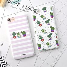Hot Fruits Flower Cactus 3D Relief Silicone Case Cover For iPhone 7 6 6s Plus Rubber Soft Phone Cases for iphone7 6 Fundas(China (Mainland))