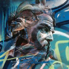 Urban Poseidon | PichiAvo – Art, design, graffiti