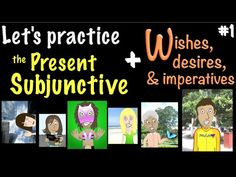 Let's Practice the Present Subjunctive in Spanish - W in WEIRDOS - YouTube