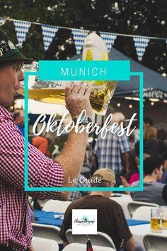 Tout savoir sur l'organisation d'un séjour à la fête de la bière de Munich. #Bavière Munich, Destinations D'europe, Weekend France, Voyage Europe, Broadway Shows, Organiser, Blog, People Leave, Sightseeing Bus