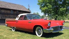 1957 Ford Thunderbird 5-Time CTCI Gold Medallion Winner, E-Code 312