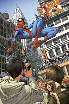 Spider-man issue 4 page 1 by `diablo2003
