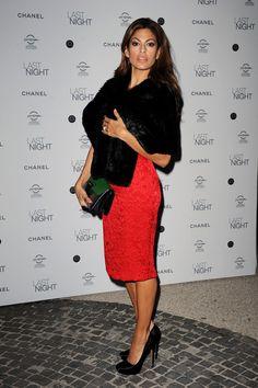 "Eva Mendes Photos - ""Last Night"" Dinner Party: The 5th International Rome Film Festival - Zimbio"