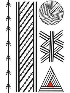 Tucum - Tatuagem Temporária Tucum