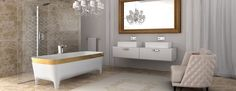 Accademia collection by Carlo Colombo Design for Teuco