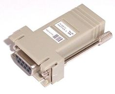 CISCO SYSTEMS - DB9(F)-RJ45 CONSOLE ADAPTER by Cisco. $25.00. DB9(F)-RJ45 CONSOLE ADAPTER