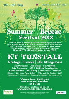 Summer Breeze 2012 Festival Poster