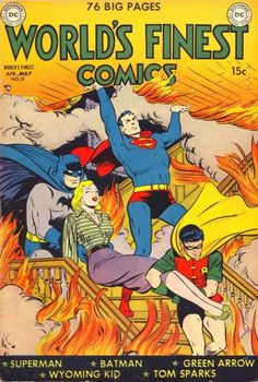 "Batman VI: Seeking to pair their two biggest stars in a regular series, DC began publishing ""World's Best Comics"" in Spring 1941."