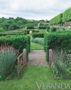 Jinny Blom - gate in the hedge